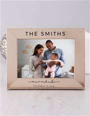 Personalised Couples Photo Frame