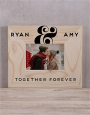 Personalised Together Forever Photo Frame
