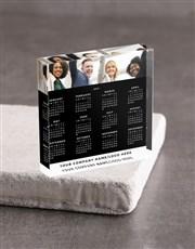 Personalised Calendar Acrylic Block