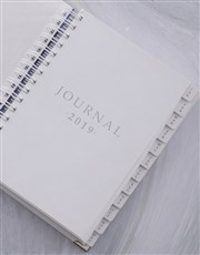Personalised Be Happy Goal Journal