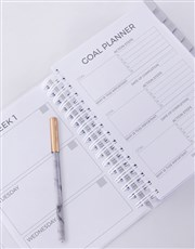 Personalised World Domination Goal Journal
