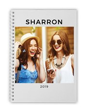 Personalised Photo Year Notebook