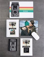 Personalised Polaroid Noteset