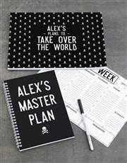 Personalised Take Over The World Noteset