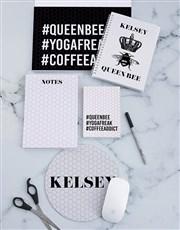 Personalised Queen Bee Noteset