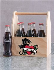 Personalised Panther Heart Man Crate