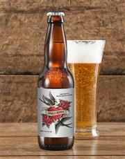 Personalised Lovebirds Craft Beer