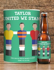 Personalised Stand United Craft Beer