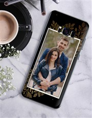 Personalised Laurel Photo Samsung Cover