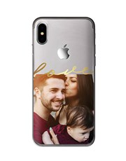 Personalised Love Photo iPhone Cover