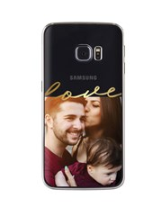 Personalised Love Photo Samsung Cover