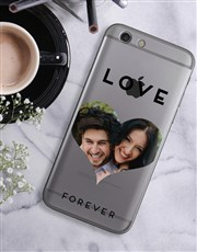 Personalised Heart Photo iPhone Cover