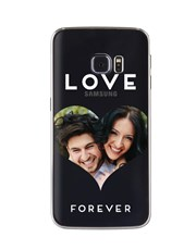 Personalised Heart Photo Samsung Cover