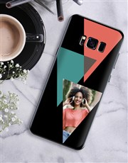 Personalised Triangle Photo Samsung Cover