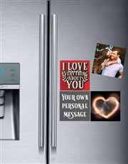 Personalised Romantic Fridge Magnets
