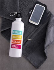 Personalised Kickass Waterbottle