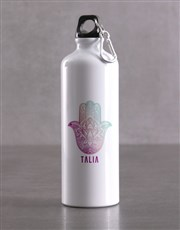 Personalised Hamsa Waterbottle