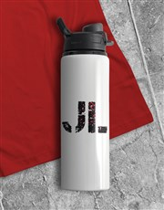 Personalised Zombie Water Bottle And T Shirt