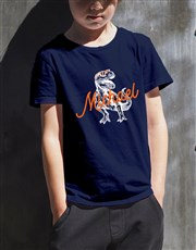 Personalised T Rex T Shirt