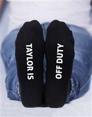 Personalised 3 Birthday Socks Box