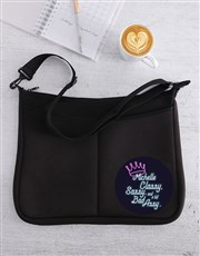 Personalised Sassy And Classy Laptop Bag