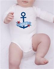 Personalised Nautical Clothing Set