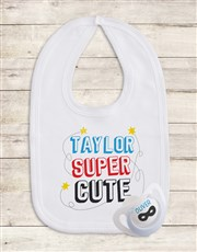 Personalised Baby Hipster Clothing Set