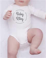 Personalised Little Stars Clothing Set