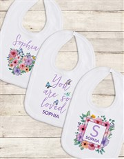 Personalised Floral Gift Set