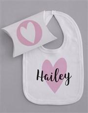 Personalised Tiny Hearts Gift Set