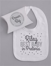 Personalised Grey Stars Gift Set