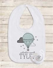 Personalised Balloon Gift Set