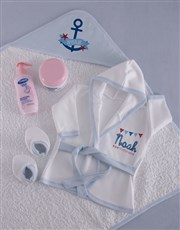 Personalised Little Sailor Spoil Set
