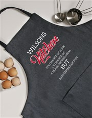Personalised Fun Apron