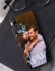 Personalised XO Photo Huawei Cover