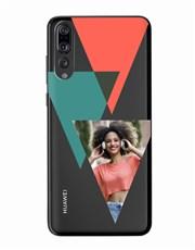 Personalised Triangle Photo Huawei Cover