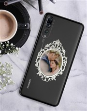 Personalised Ornate Frame Huawei Cover