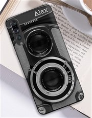 Personalised Camera Huawei Cover