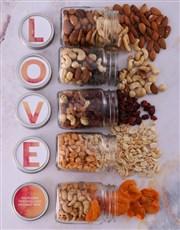 Personalised Love Preserve Jar Set