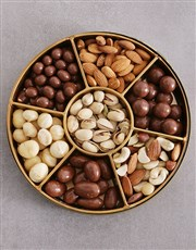 Personalised Birthday Nuts Tray