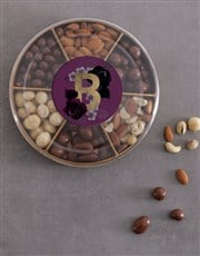 Personalised Initial Nuts Tray