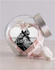 Personalised Photo With Love Candy Jar