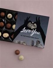Personalised Moonlit Heart Gift Set