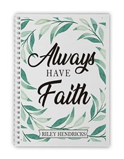Botanical Faith Notebook