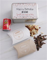 Personalised Magical Birthday Snack Tin