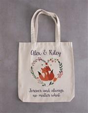 Fox And Tote Bag Hamper