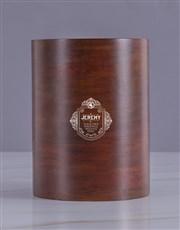Personalised Badge Wooden Ice Bucket