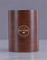 Personalised Emblem Wooden Ice Bucket