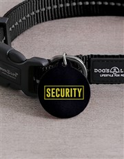 Personalised Security ID Tag And Collar