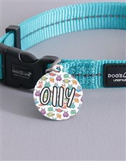 Personalised Monster ID Tag And Collar